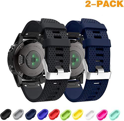 SUPORE Garmin Fenix 5S /Fenix 6s Cinturino, Braccialetto Morbido di Ricambio in Silicone per Smartwatch GPS Garmin Fenix 6s PRO/Fenix 6s Sapphire/Fenix 5S Plus