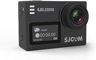 """SJCAM SJ6 Legend 16 MP 4K 24fps 2.0"""" LCD Touch Screen Action Camera   Gyro Sensor   External Mic Support   Dual Screen (Bl..."""
