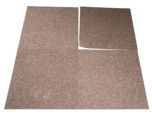 Preisvergleich Produktbild Floori Teppichfliesen Jazz Set - Beige - Premiumklasse (2, 5kg / m²,  antistatisch,  bitum)