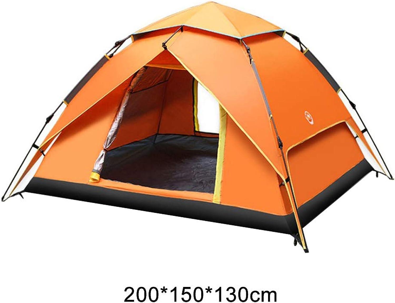 DCCMXD Doppeltes Tragbares, Leichtes, Wasserdichtes, Atmungsaktives Strandwandern-Popup-Zelt Für Camping Im Freien