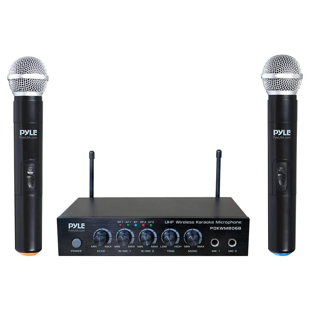Portable UHF Wireless Microphone System