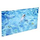 SALUTUYA PVC de Papel de la decoración del Tanque de Pescados para la decoración