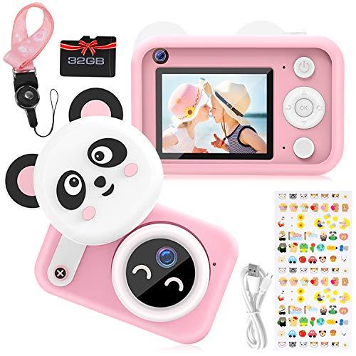 joylink Kinder Kamera, Kinder Digital Kamera 16MP 1080P HD Videokamera Digitalkamera Kinder und 32 GB TF-Karte Digitalkamera für Kinder
