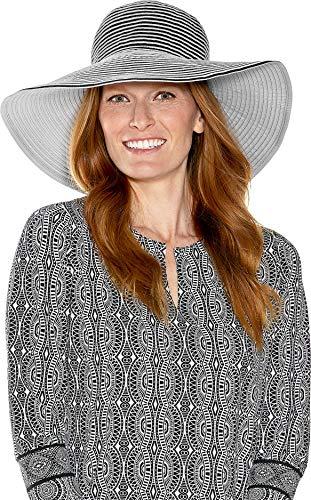 Coolibar UPF 50+ Chapeau de protection solaire pour femme - - Taille unique