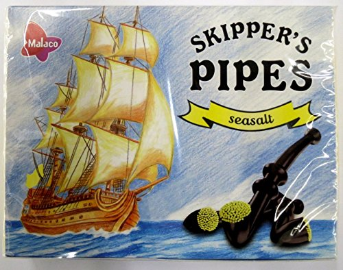 10 x MALACO SKIPPER PIPES SEASALT 20er