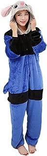 TOKYO-T Rabbit Kigurumi Judy Costume Pajamas Onesie Halloween Cosplay