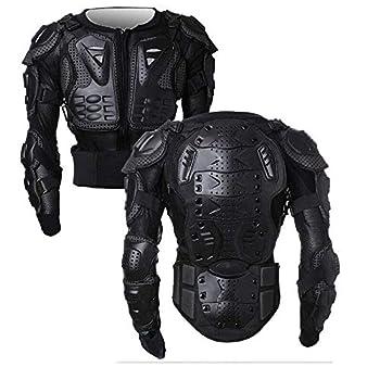 OHMOTOR Motorbike Protective Armour Chest Back Spine Armor Protector Motorcross Armoured Jacket Clothing Men Womenfor KTM,MTB,ATV,Dirt Bike