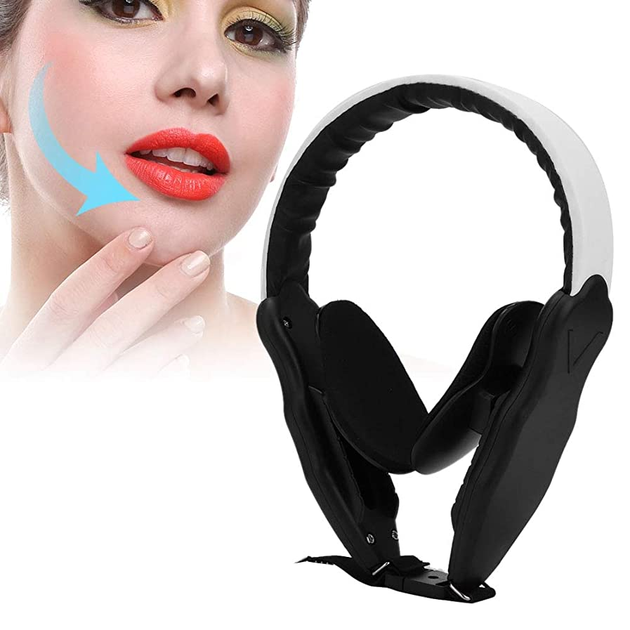 小切手先行する無意識小顔マスク 矯正 調節可能な圧力工具を細くする薄い顔の補正装置のあごの頬の皮のマッサージの持ち上がること