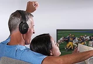 Sharper Image TV Wireless Headphones - Black