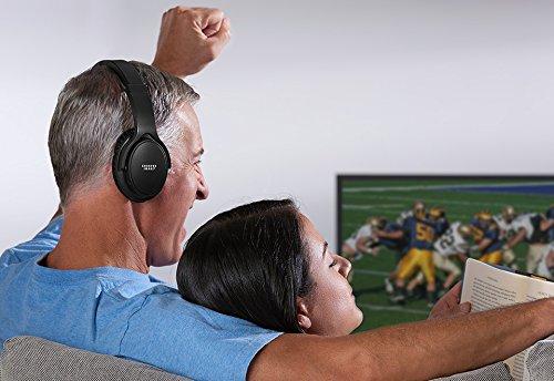 Sharper Image TV Wireless Headphones - Silver