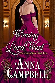 Winning Lord West (Dashing Widows) by [Anna Campbell]