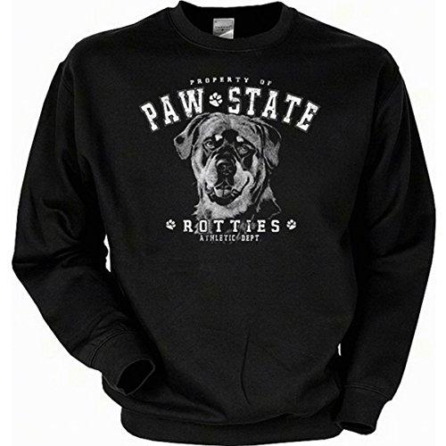 T-Shirt Deal Hundeliebhaber Rottweiler Sweatshirt Gr S in schwarz