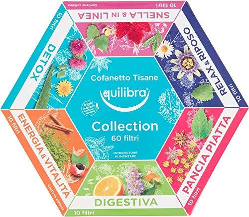 Equilibra Cofanetto Tisane Collection, 60 Filtri