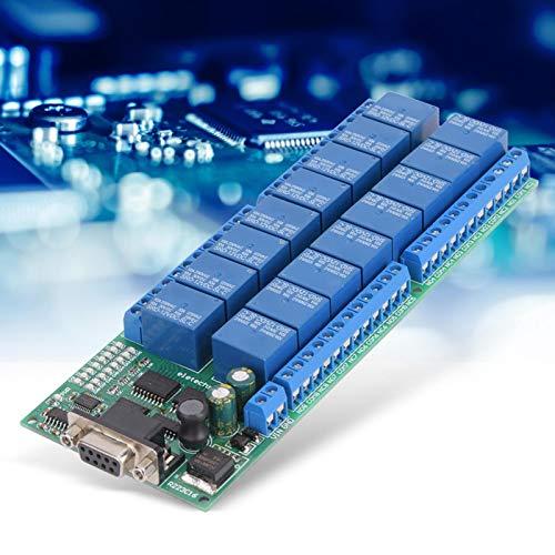 Relaismodul, 16-Kanal-Relaismodul, serielle Schnittstelle der weiblichen Schnittstelle für Arduino Raspberry Pi