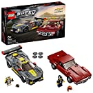 LEGO 76903 Speed Champions Chevrolet Corvette C8.R Race Car and 1968 CC Racing Cars Toys for 8+ Years Old, 2 Sports Models Building Set