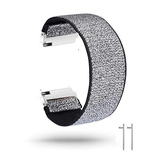 ZXF Correa de Reloj, 18mm 20 mm 22 mm Correa Deportiva elástica para Ver la Banda de Nylon de Banda de 46 mm de 26 mm de Banda de la Banda de la Mujer para Mujer