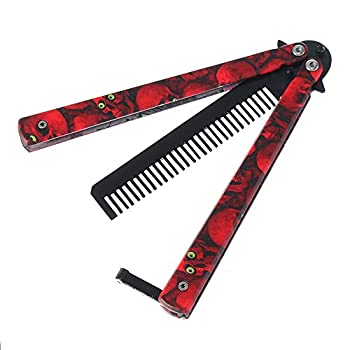 red butterfly knife