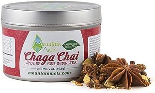 ~Chaga Chai~ All Natural Loose Leaf Herbal Tea - Warming Caffeine and Sugar Free Chai Tea Featuring Chaga Mushrooms, Up to...