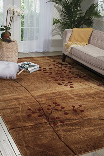 Nourison Somerset Latte Brown Area Rug, 2' x 2'9'