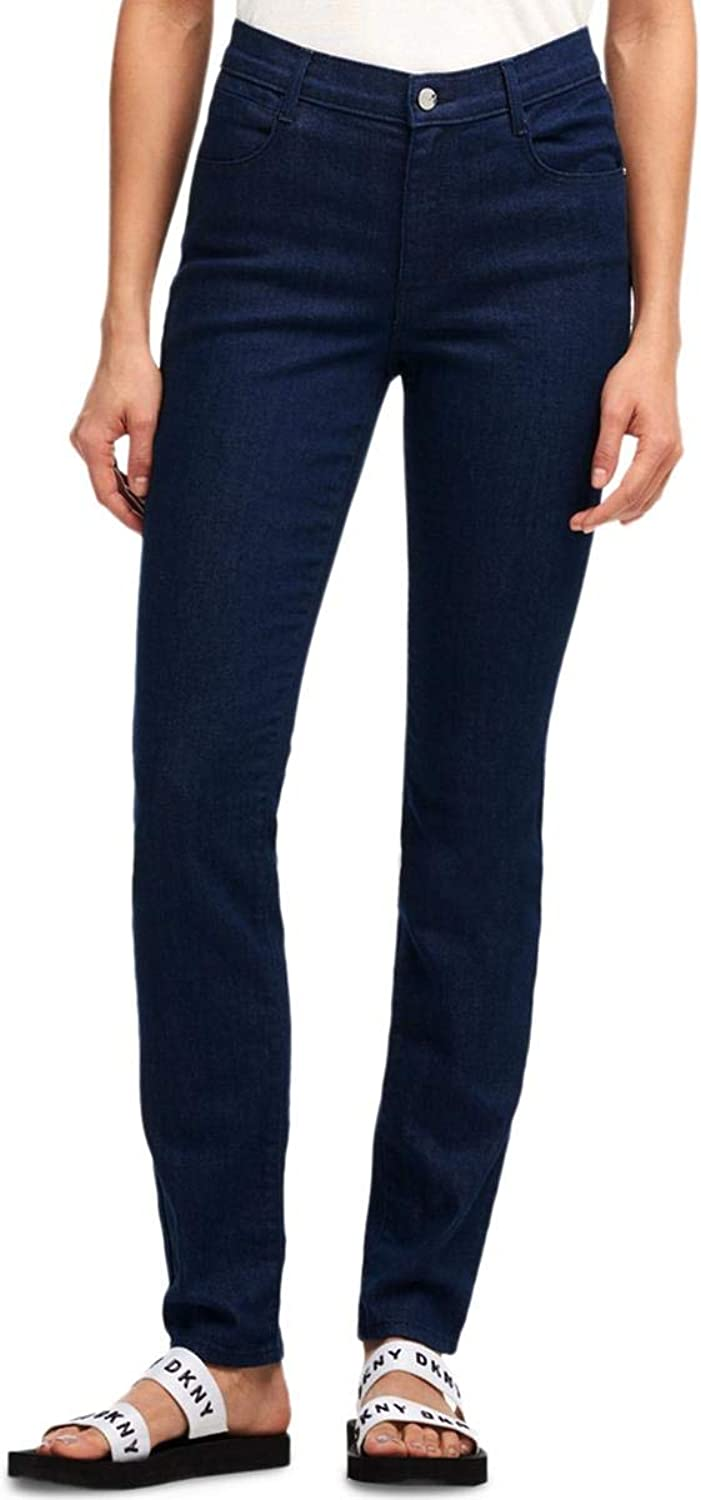 DKNY Womens MidRise Casual Skinny Jeans