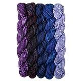 Knit Picks Stroll Mini Packs Merino Sock Yarn (Moody Blues)