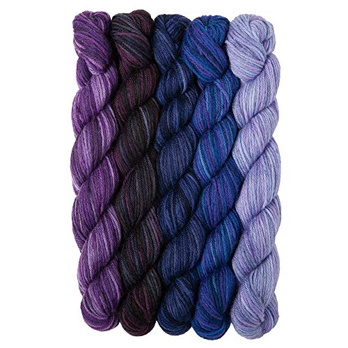 Knit Picks Stroll Mini Packs Merino Sock Yarn (Moody Blues)