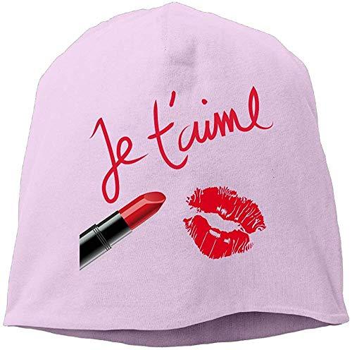 NA Fashion Effen Kleur Lippenstift Rood Lippen Hoofdband Voor Unisex Roze
