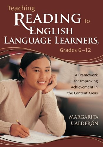 Download Teaching Reading to English Language Learners, Grades 6-12: A Framework for Improving Achievement in the Content Areas 1412909260