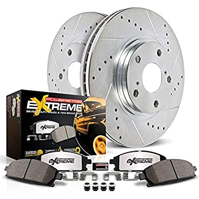 Power Stop K137-36 Z36 Truck & Tow Front Brake Kit
