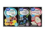 Great Value Low Calorie Sugar-Free Energy Drink Mix 3 Pack Bundle, 1-Large Variety Pack 1-Dragonfruit and 1-Acai Blueberry.
