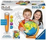 Ravensburger Tiptoi Starter-Set 00068: Stift und Junior-Globus-Lernsystem für Kinder ab 4 Jahren