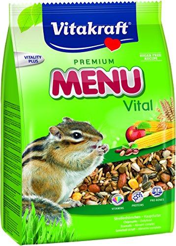 Vitakraft Menü Vital, Streifenhörnchen, 1er Pack (1 x 600 g)