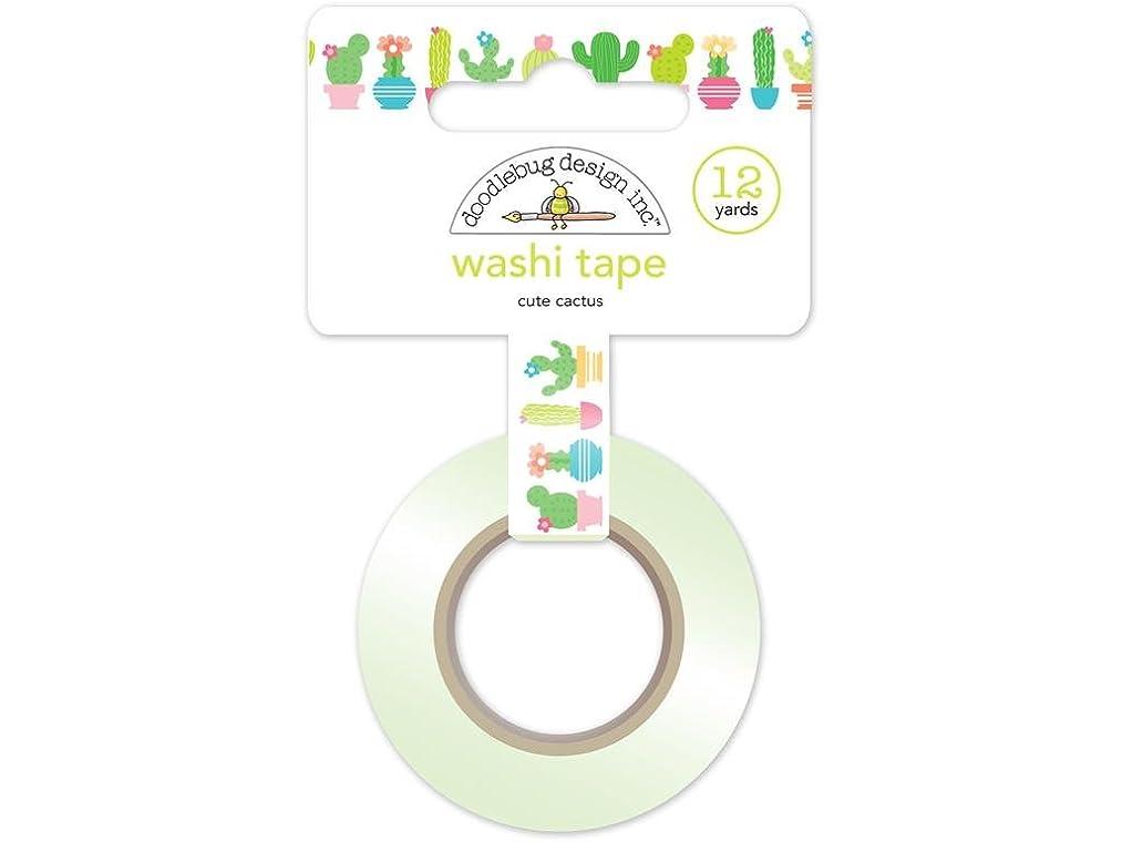 DOODLEBUG FS Cute Cactus Washi Tape