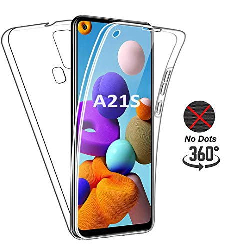 with TPU Silicone Gel Transparent Flexible Front Clear Connect Zone Compatible for Huawei P30 Hardback Case Ultra Slim 360-degree Protective Shockproof Front and Back Case Cover