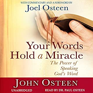 Your Words Hold a Miracle audiobook cover art