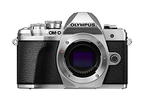 Olympus OM-D E-M10 Mark III corpo fotocamera (argento), Wi-Fi abilitato, video 4K