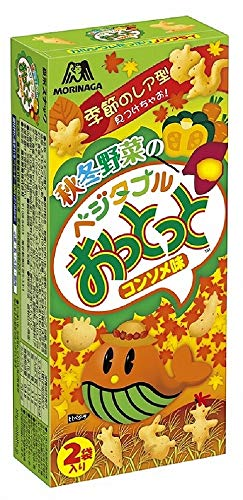 森永製菓 ベジタブルおっとっと 50g×10箱