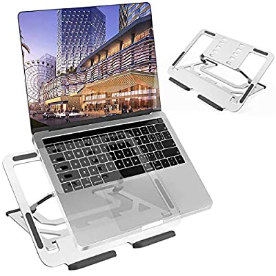 TECOOL Adjustable Laptop Stand, WFH Ergonomic A...