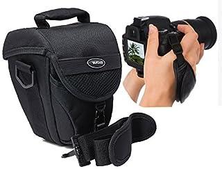 Foto Kamera Tasche COLT Vantage Set mit Action Handgriff Leder für Nikon D5500 D5300 D5200 D5100 D3300 D3200 D3100