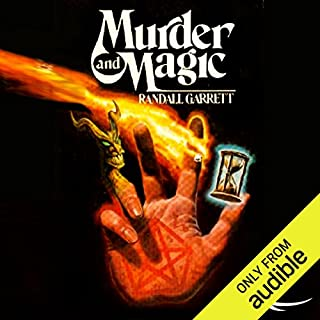 Murder and Magic audiobook cover art
