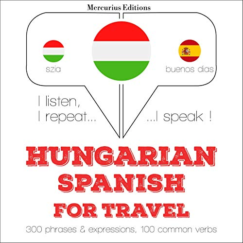 Hungarian – Spanish. For travel cover art
