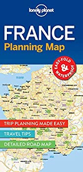 Lonely Planet France Planning Map 1  Planning Maps