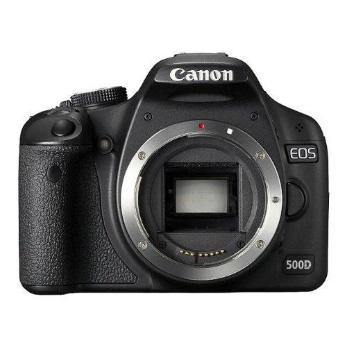 Canon EOS 500D / Rebel T1I / EOS KISS X3 ( 15.5 Megapixel (3 Zoll Display) ) (Generalüberholt)
