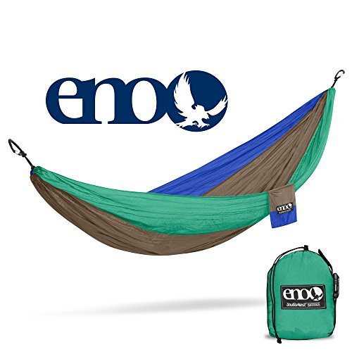 ENO, Eagles Nest Outfitters DoubleNest Lightweight Camping Hammock, 1 to 2 Person