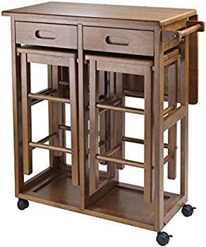 Winsome Wood Suzanne 3-Piece Space Saver Kitchen Set