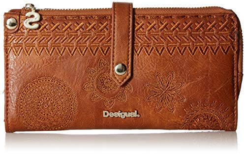 Desigual Dark Amber Ester Medium Wallet Camel