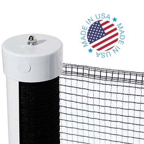 Kidkusion Retractable Driveway Guard, Black, 25' | Driveway Safety; Outdoor; Barrier; Adjustable