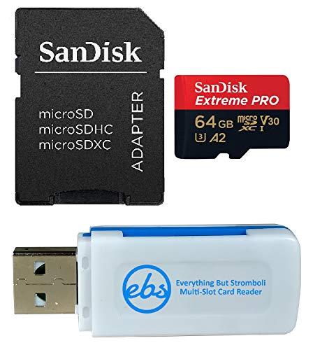 memoria micro sd de 64 gb clase 10 fabricante SanDisk