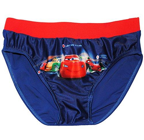 alles-meine.de GmbH Badehose / Badeslip -  Disney Cars - Lightning McQueen / Auto  - Größe 8 bis 9 Jahre - Gr. 134 bis 140 - für Jungen Kinder Badepants - Badeshorts - Boxersho..