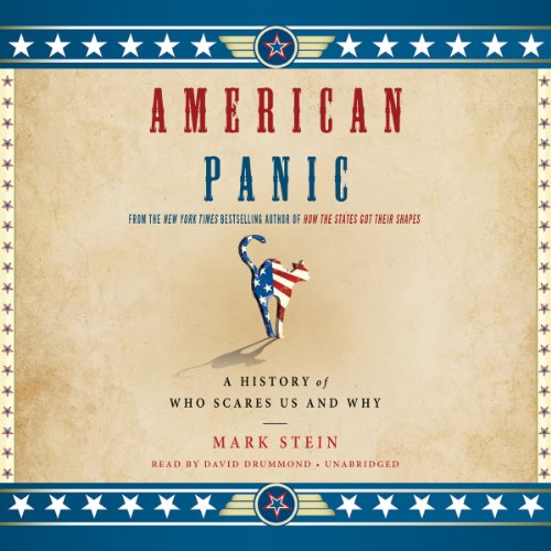 American Panic audiobook cover art